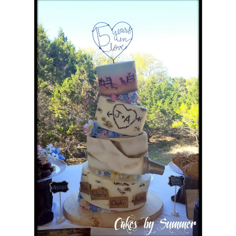 wedding cakes new braunfels